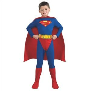 Superman Costume Size 4-6T